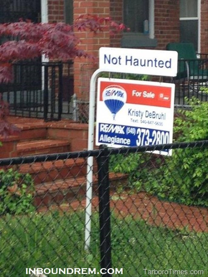 Real Estate Meme - Not haunted